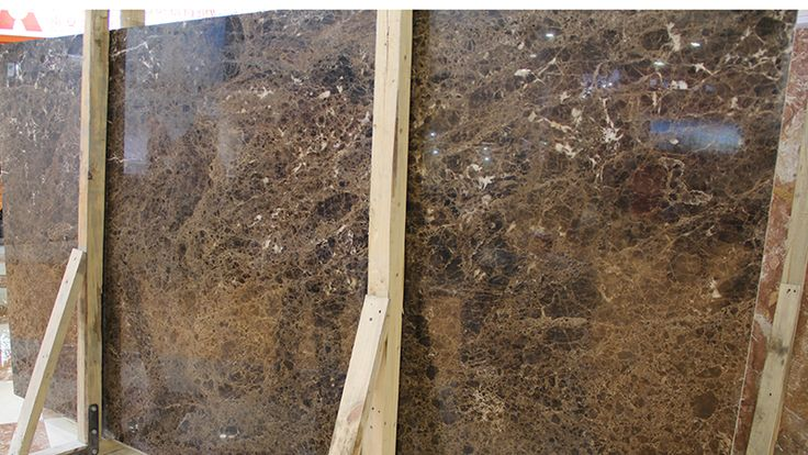 Dark Emperador Bullnose Edge Marble Vanity Top Quartz Countertop