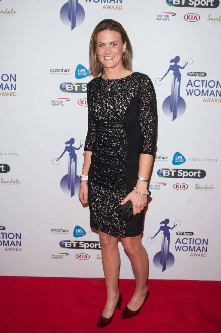 Heather Stanning - BT Sport Action Woman Awards in London