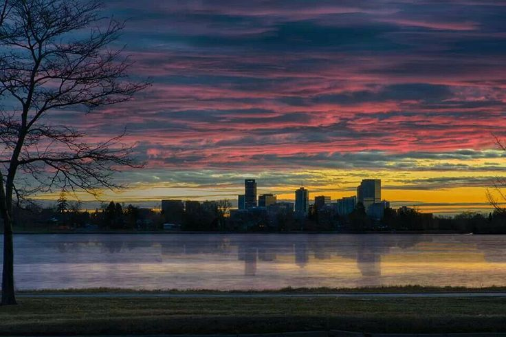 Sloans Lake Sunset, Colorado | Colorado | Pinterest ...