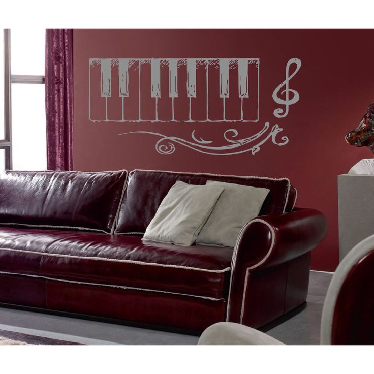 Music Ringtones Melody Notes Wall Art Sticker Decal