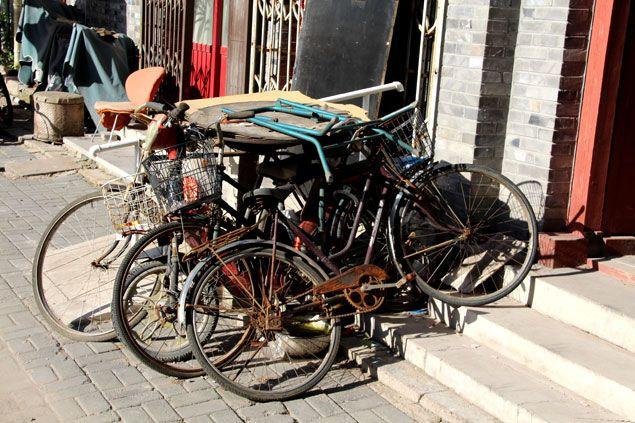 La bicicleta sigue siendo el medio de transporte habitual