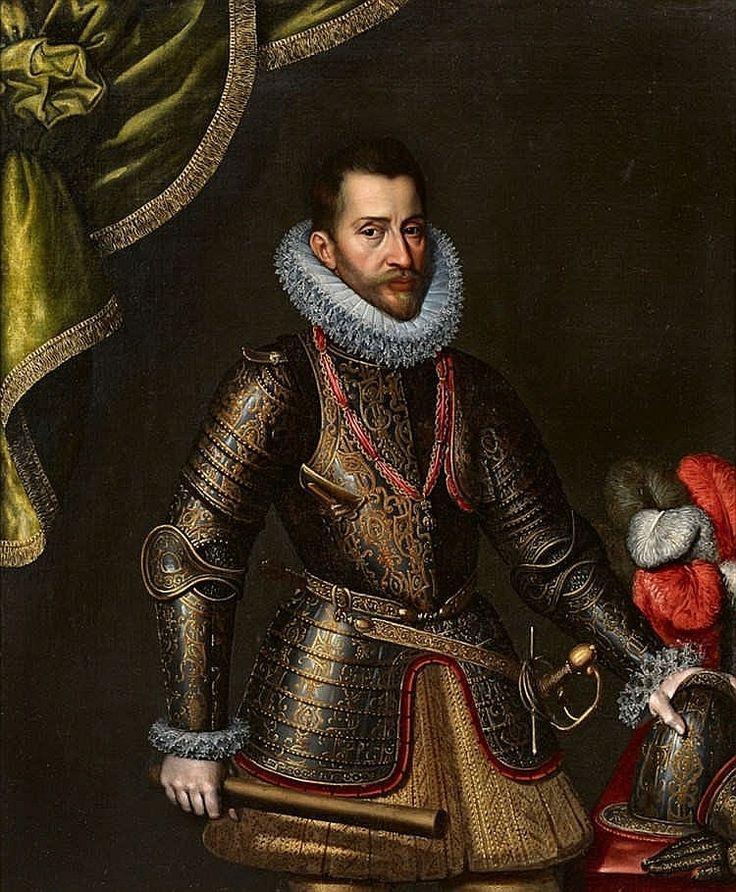 Flemish School 1st half 17th century, Portrait of Archduke Albrecht VII of Austria, Stadtholder of the Spanish Netherlands