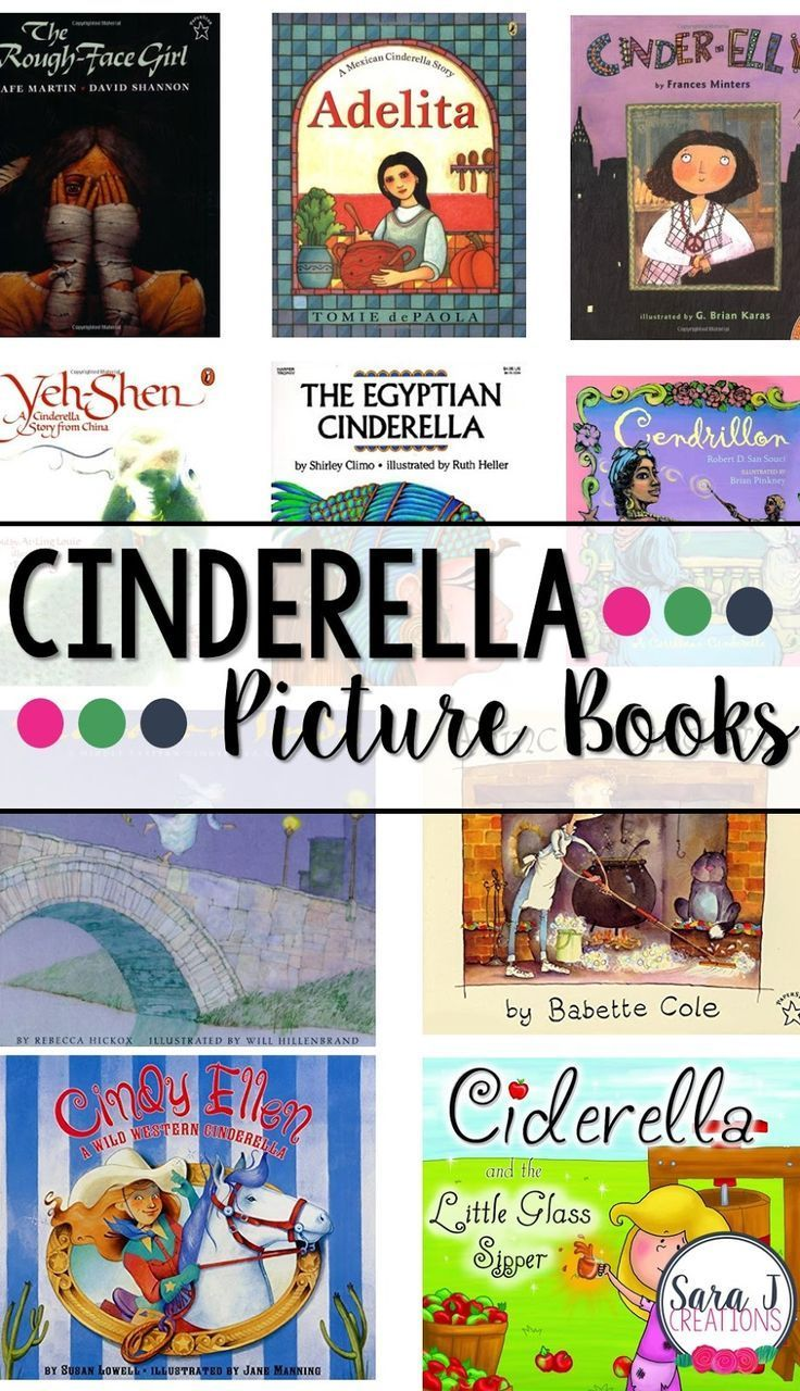 the world is a great way for children to compare and contrast different text. Here's 10 different versions of Cinderella.