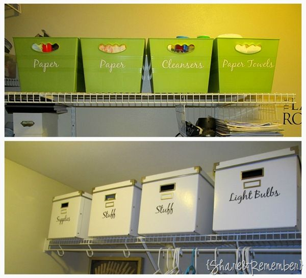dollar tree nesting bins organized - Google Search