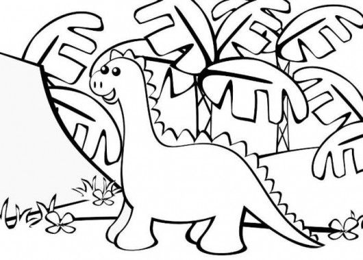 simple dinosaur drawing google search birthday ideas pinterest coloring pages coloring. Black Bedroom Furniture Sets. Home Design Ideas