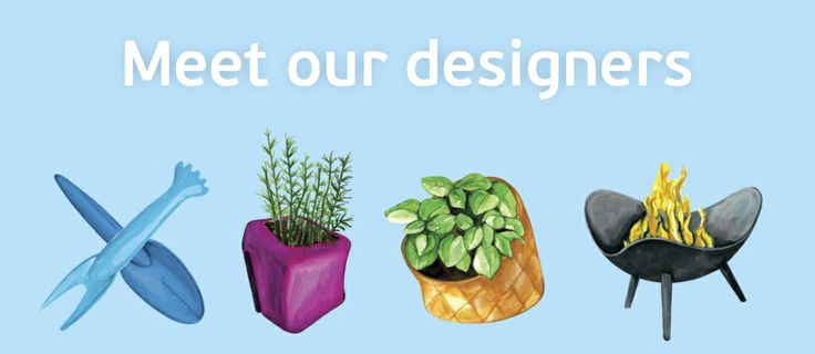 Meet our designers  Klara gardening do wonderful gardening accessories
