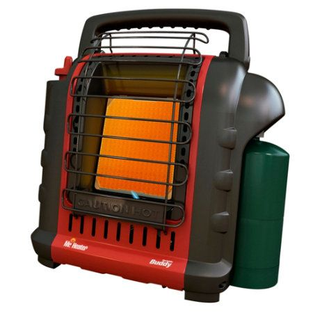 Mr. Heater Portable Buddy heater for camping - safe in tents