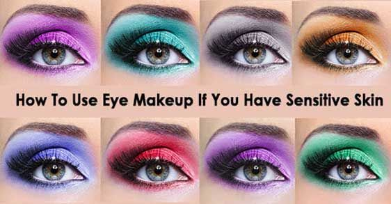 What's the most common cause of rash on the eyelids and how to use eye makeup if you have it