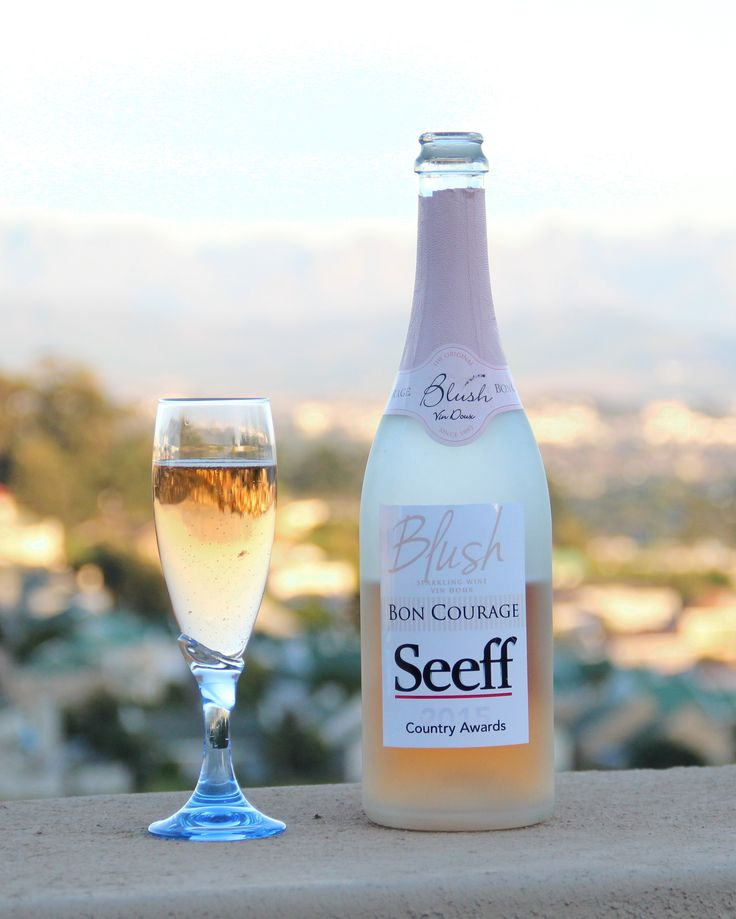 Blush - Sparkling Wine from Bon Courage (Specially branded for Seeff Properties)