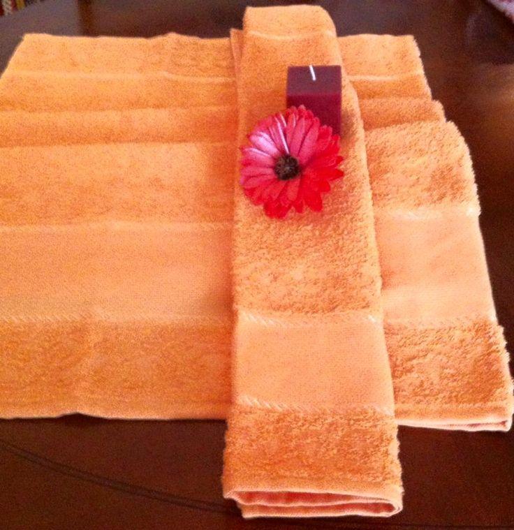 coppie di spugna con tela aida a 6,00€ in arancio