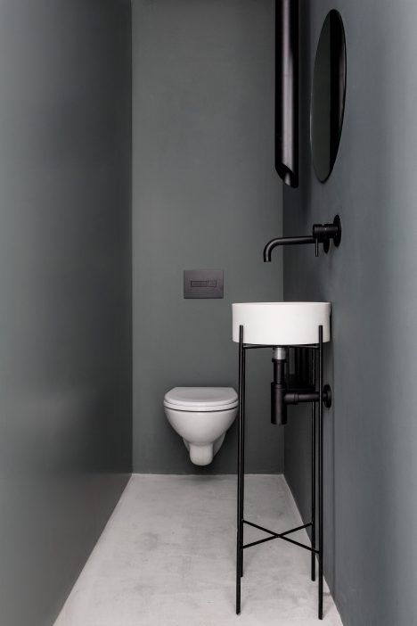 작은 집을 위한, 상업 공간을 위한, 일을 보고 싶은 화장실...