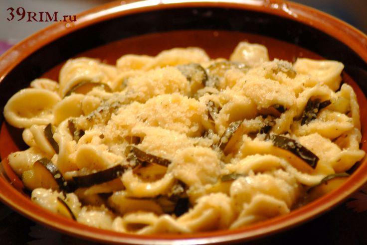 Итальянская паста с цуккини