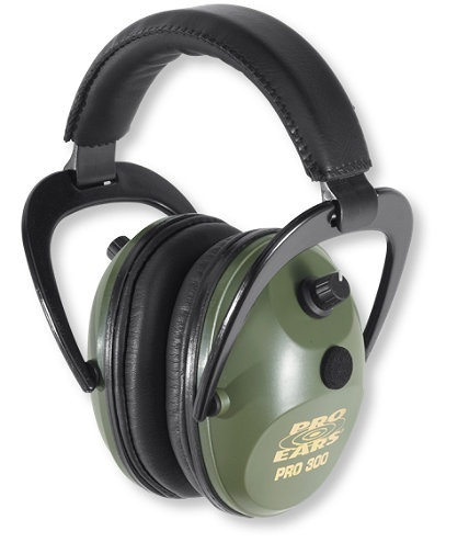 Pro Ears Pro 300 Electronic Ear Muffs: Shooting Sports and Clays   Free Shipping at L.L.Bean