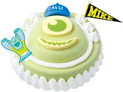 モンスターズ・インクのマイクのケーキ--サーティワンから entabe.jp/news/article/2170