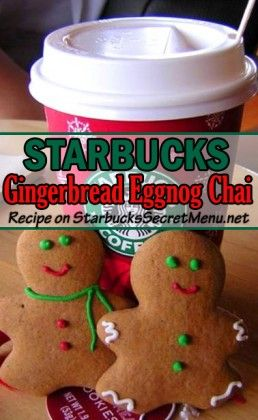 Gingerbread Eggnog Chai