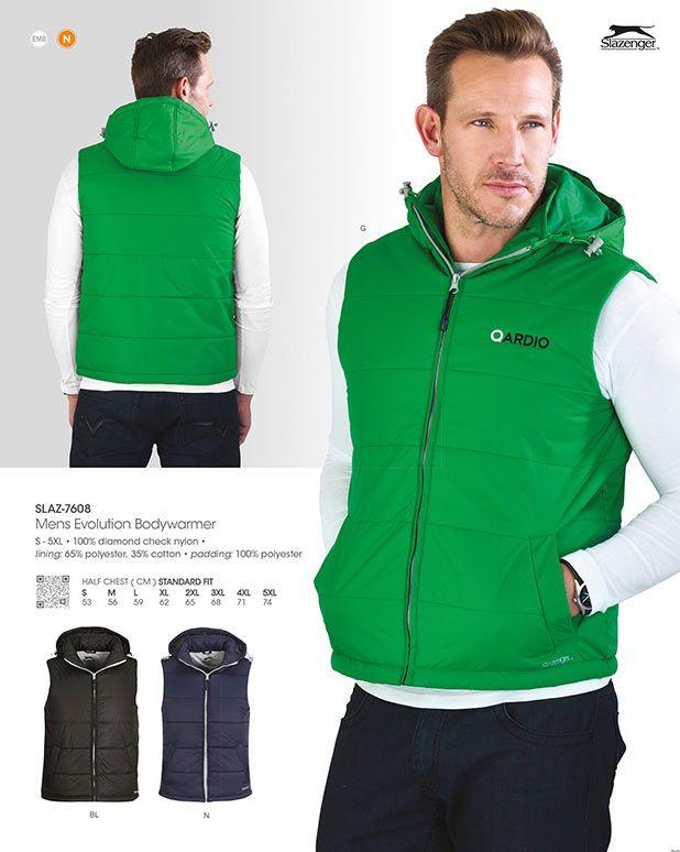 Slazenger evolution padded bodywarmer - Sleeveless Jacket with Hood