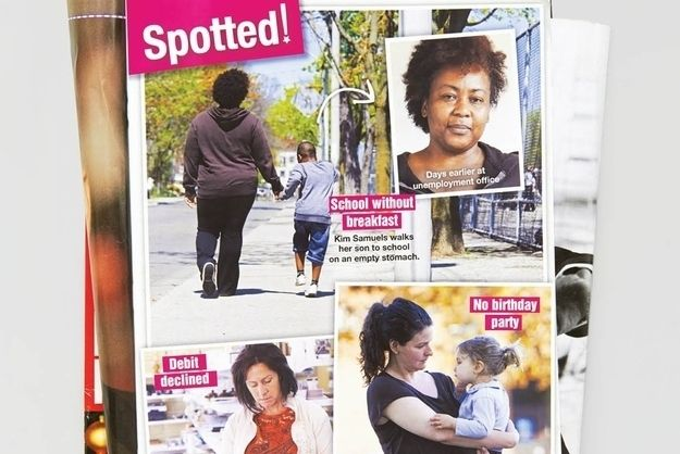 Fake Magazine Covers Depict Struggling Mothers As Famous Celebrities [Pics] fake tabloid magazine covers that feature struggling women instead of celebrities, aiming to draw people's attention to those who need it more and help them move out of poverty.