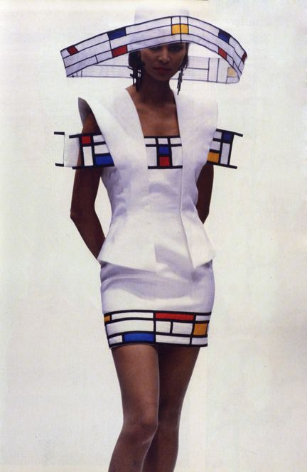 Mondrian by Francesco Maria Bandini Repinned by www.fashion.net