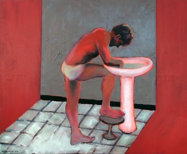 Paweł Kwiatkowski, Protagonista V, 2012 #art #contemporary #artvee