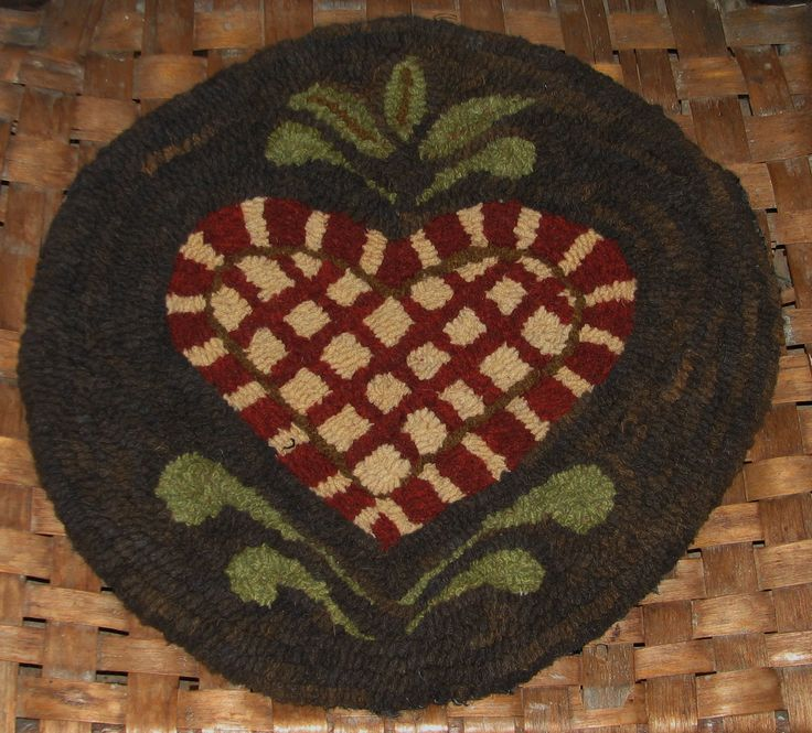 Butter Mold Series - Prim Heart Chair Pad Pattern/Kit