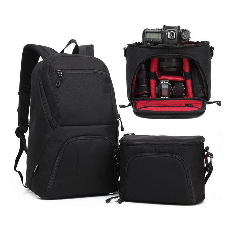 Large Capacity 2in1 DSLR Camera Bag (Free Shipping) Please allow 10-15 days for shipping