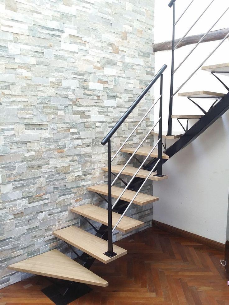 17 meilleures id es propos de limon escalier sur pinterest escalier desig - Escalier central maison ...