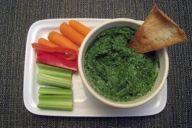 Spinach-Basil Dip