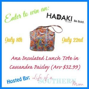 Mom Among Chaos: Enter To Win An Ana Insulated Lunch Tote