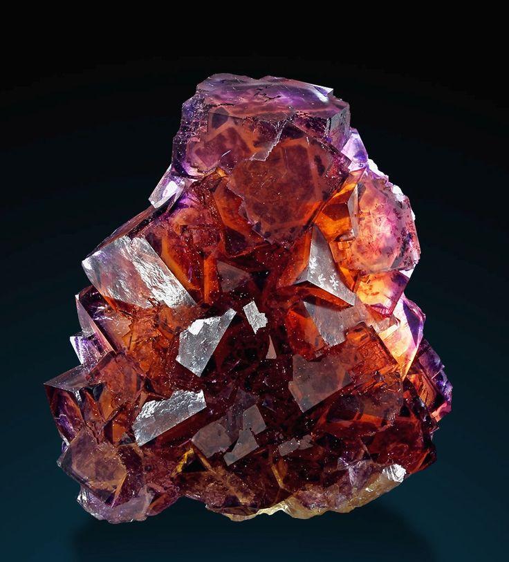 Minerals and Crystals — Phantom Fluorite - Okoruso Mine, Otjiwarongo...