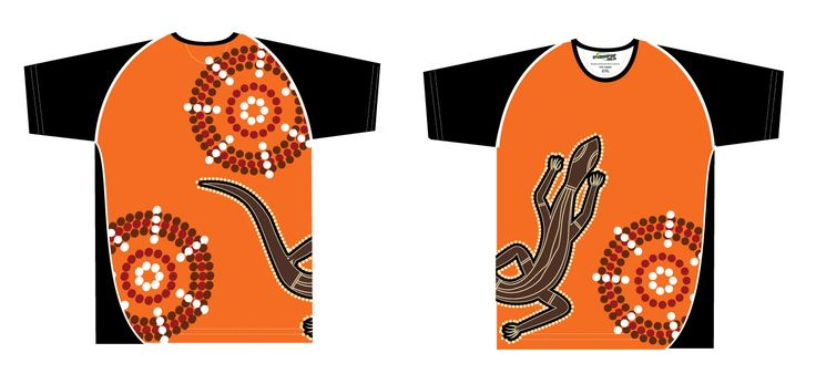 Goanna Sublimated Aboriginal shirts are bright to create a fun environment at your next event! http://promocorner.com.au/aboriginal-clothing/sublimated-aboriginal-shirts/