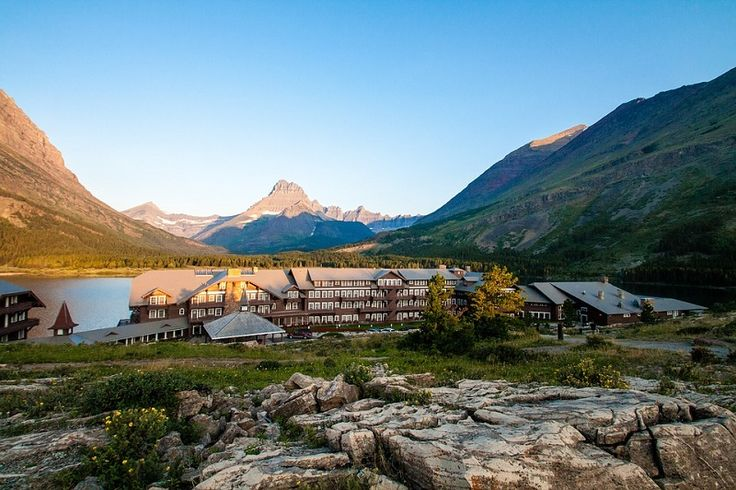 Stay at The Many Glacier Hotel - Glacier National Park