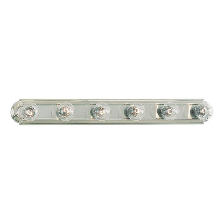 Sea Gull Lighting De-Lovely 6-Light Brushed Nickel Vanity Light Bar 2?