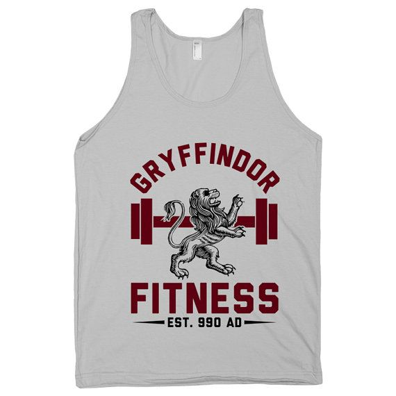 Gryffindor+Fitness+Hogwarts+HP+Harry+Potter+Magic+by+ProxyPrints,+$22.00