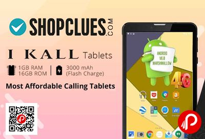 Shopclues brings IKall Tablets Most affordable Calling Tablets Price Starts Rs.2899. 1GB Ram, 16GB ROM, 3000mAh Battery Flash Charge.  http://www.paisebachaoindia.com/ikall-tablets-most-affordable-calling-tablets-price-starts-rs-2899-shopclues/