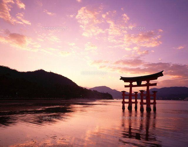 日本の世界遺産 厳島神社 1996年12月 文化遺産登録 広島県