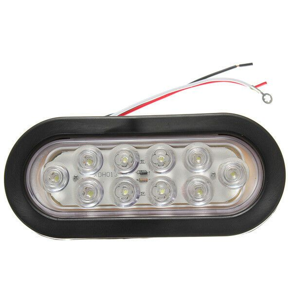 Sponsored Ebay Sealed 6 Inch Oval 10 Led Car Tail Light Rear Stop Turn Lamp Tail Light 10 Things Ebay
