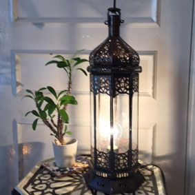GADAN > 照明・モロッコランプ > モロッコガラスランプ【中型】 > ガラスランプ NewコラムM/オレンジの類似商品