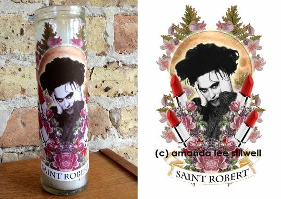 Hey, I found this really awesome Etsy listing at https://www.etsy.com/listing/183220875/robert-smith-altar-candle-saint-robert