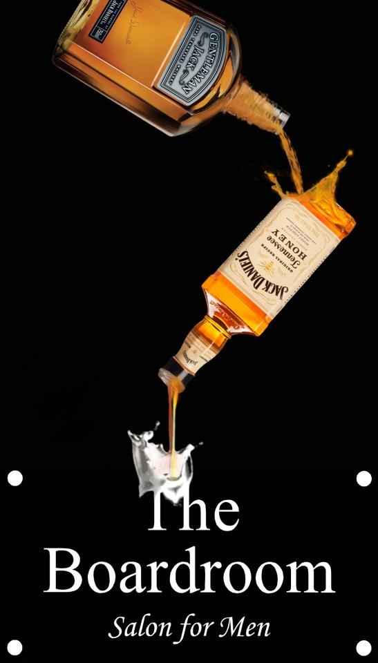 The Boardroom Salon enjoys using Jack Daniels in many of our events.