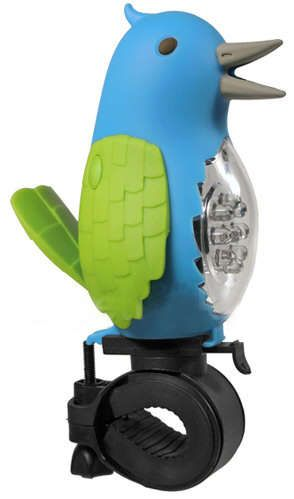 The Tweeting Bird Bike Light and Horn is Cute and Practical trendhunter.com