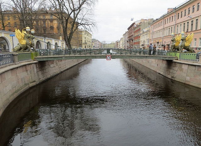 St Petersburg, Lions Bridge