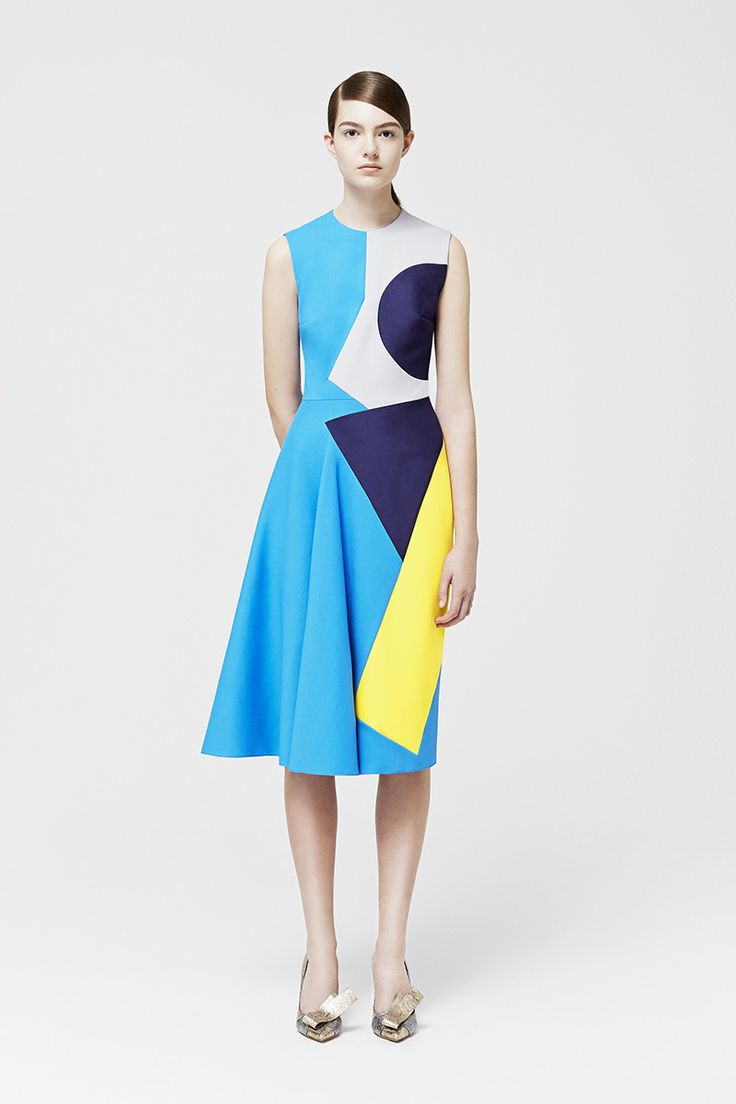 Roksanda Ilincic Resort 2015. Read the review on Vogue.com.