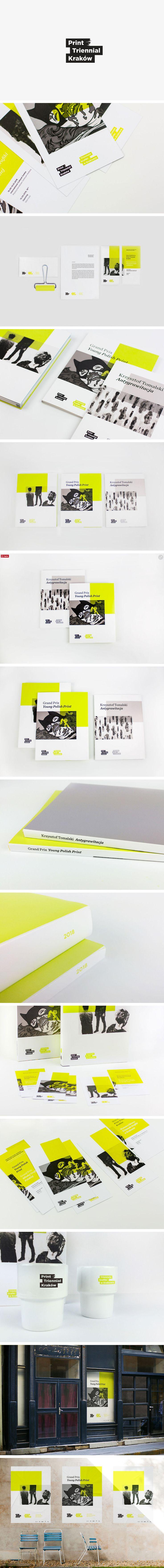 PRINT TRIENNIAL KRAKÓW  https://www.behance.net/gallery/43168989/Print-Triennial-Krakow-Visual-Identity  FUZZ STUDIO on Behance