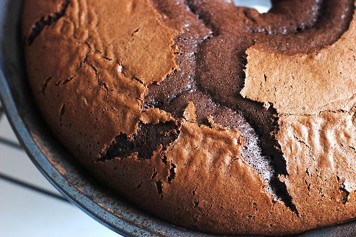 Chocolate cake made with ice cream and cake mix......easy and a yum.