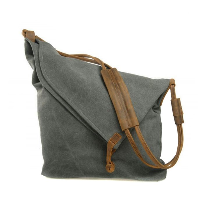 The product Canvas Satchel With Leather Strap In Grey is sold by Women's Fashion Bags in our Tictail store.  Tictail lets you create a beautiful online store for free - tictail.com