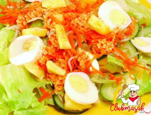 Resep Hidangan Sayuran Salad Asam Manis, Makanan Sehat Untuk Diet, Club Masak