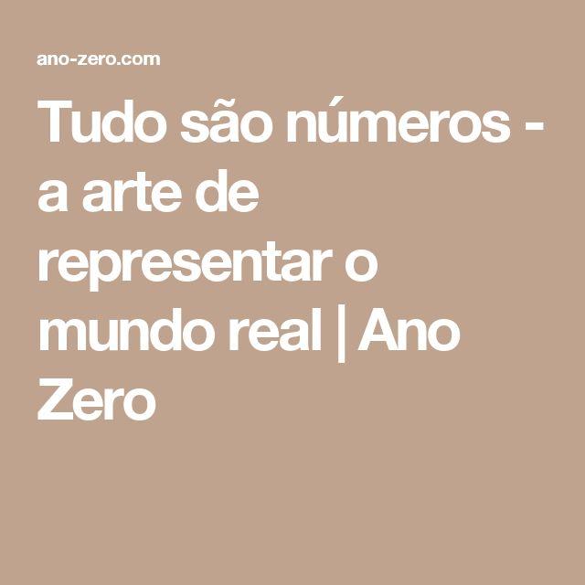 Tudo são números - a arte de representar o mundo real | Ano Zero