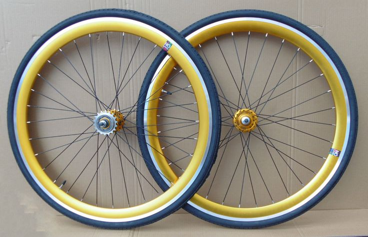 NOLOGO GOLD Single Speed wheelsets Fixed Fixie 700c flip-flop hub Wheelsets