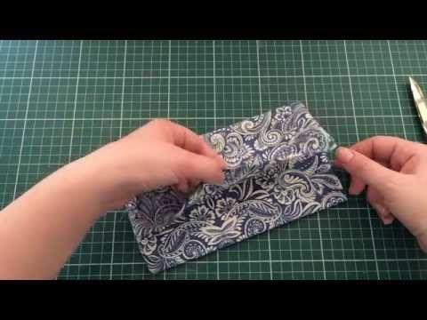 PAP fácil de Carteirinha de Tecido - YouTube