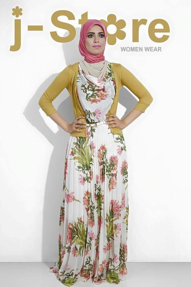 modest hijab style, Beautiful modest Fashion Style http://www.justtrendygirls.com/beautiful-modest-fashion-style/